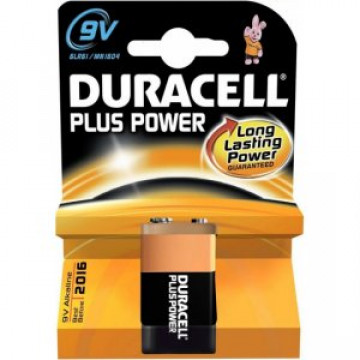 Duracell Plus Power Batterij blok 6LR61 9V