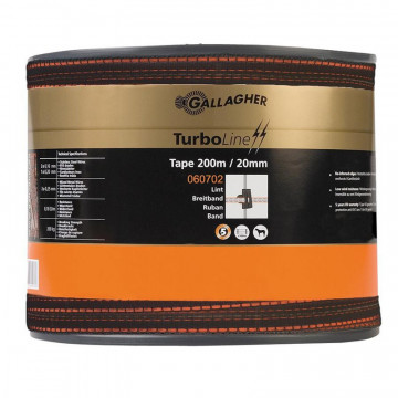 Gallagher TurboLine lint 20mm bruin 200m verpakking