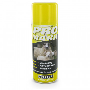 Merkspray ProMark schaap 400ml geel