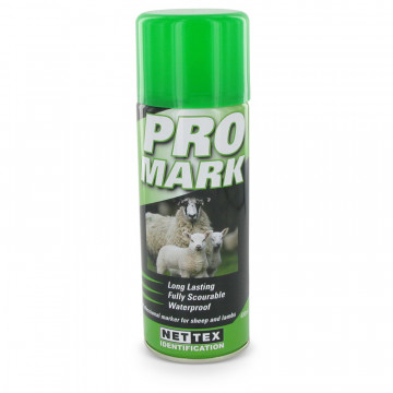 Merkspray ProMark schaap 400ml groen