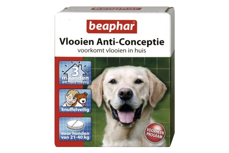 Beaphar Vlooien Anti Conceptie grote Hond 3 tabletten