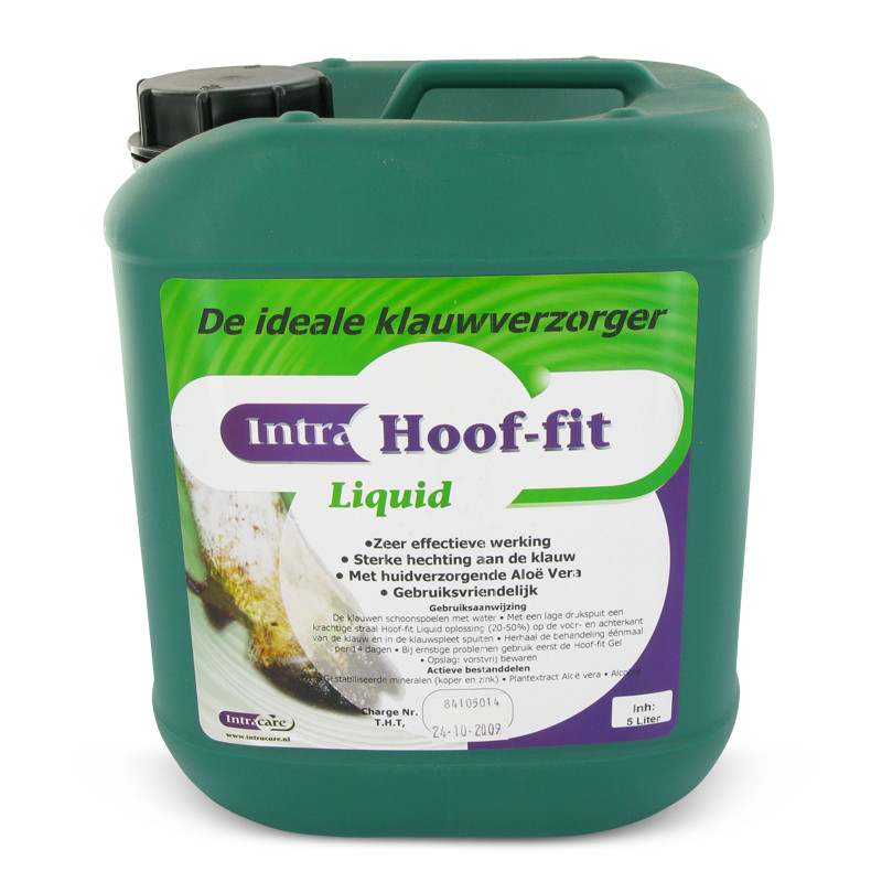 hoof fit liquid 5 of 10 liter hoefverzorging koeien. Black Bedroom Furniture Sets. Home Design Ideas