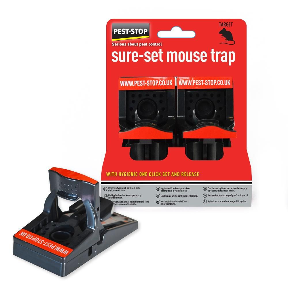 Pest-Stop Sure-Set Muizenval Twin Pack overzicht