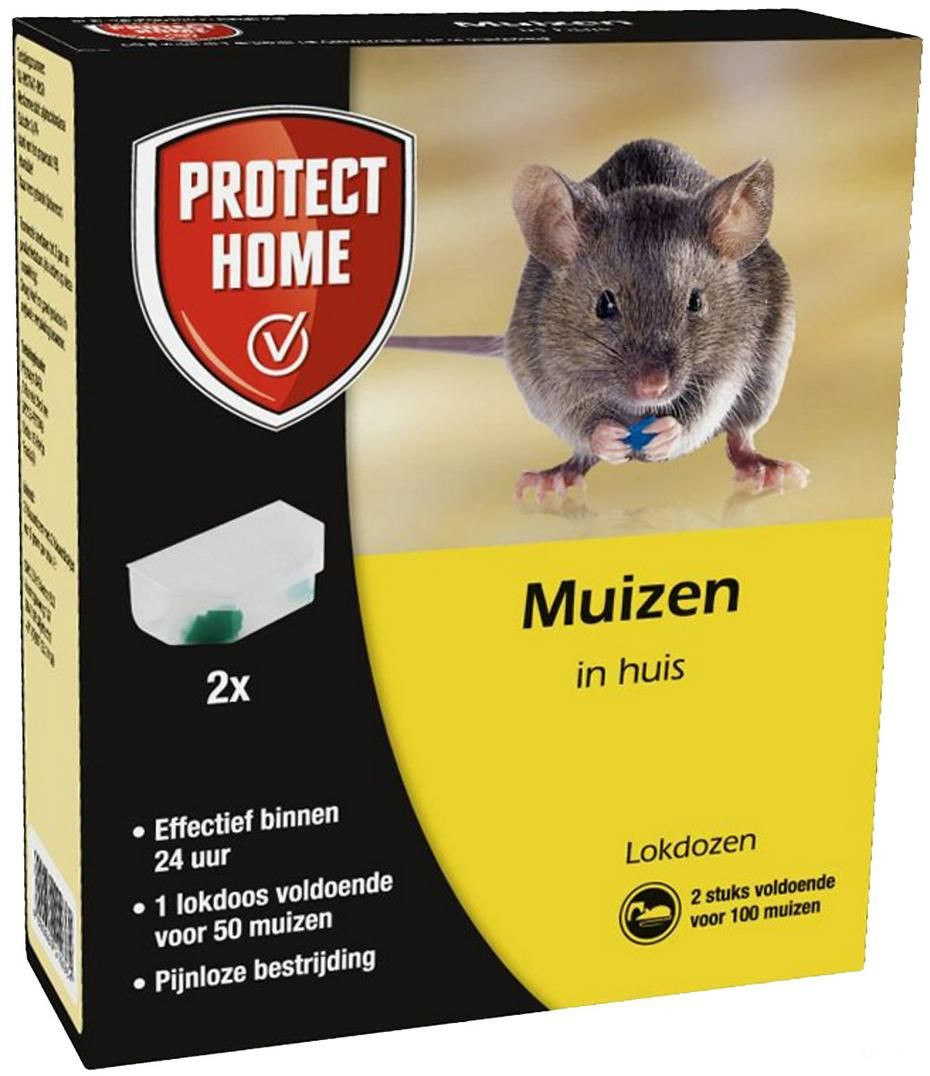 Protect Home Express Muizenmiddel 2st
