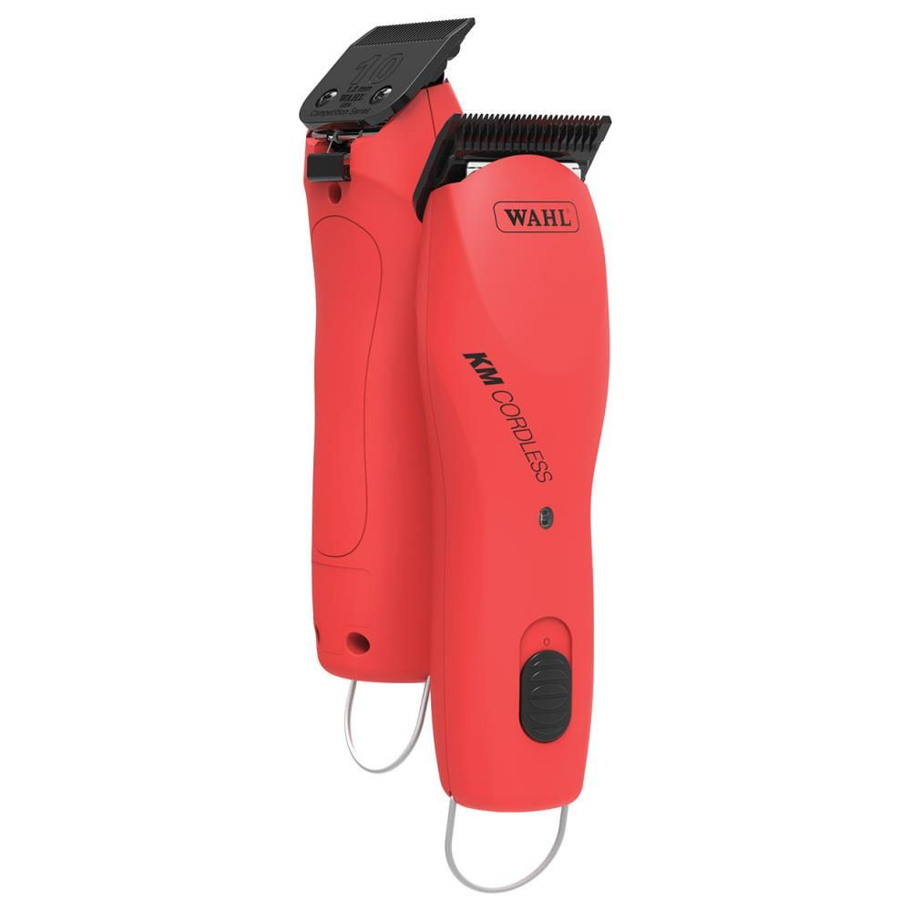 Wahl clipper KM Cordless rood dubbel