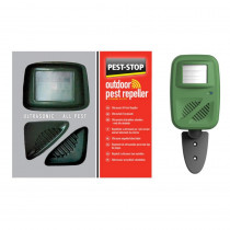 Pest-Stop Outdoor Pest Repeller - Ultrasonic All Pest