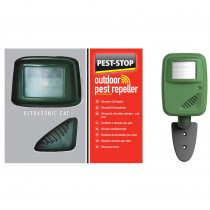 Pest-Stop Outdoor Pest Repeller - Ultrasonic Cat
